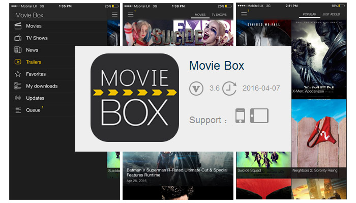 movie box iphone box 3 6 update for iphone box 12661