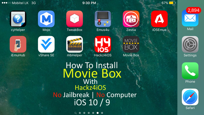 how to install moviebox on iphone how to install box with hackz4ios ios 10 2 1 9 0 18884